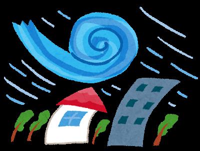 台風による臨時休館