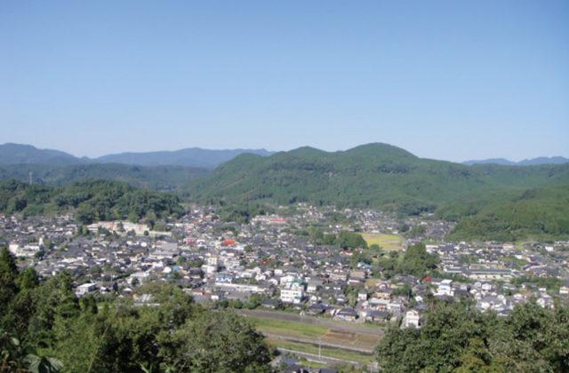 城山公園と摩崖一千梵字仏蹟