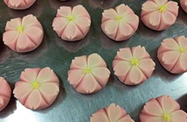 和菓子で春を作ろう