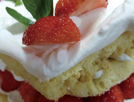 蒲生のいちごを味わう ロールケーキ&ショートケーキ